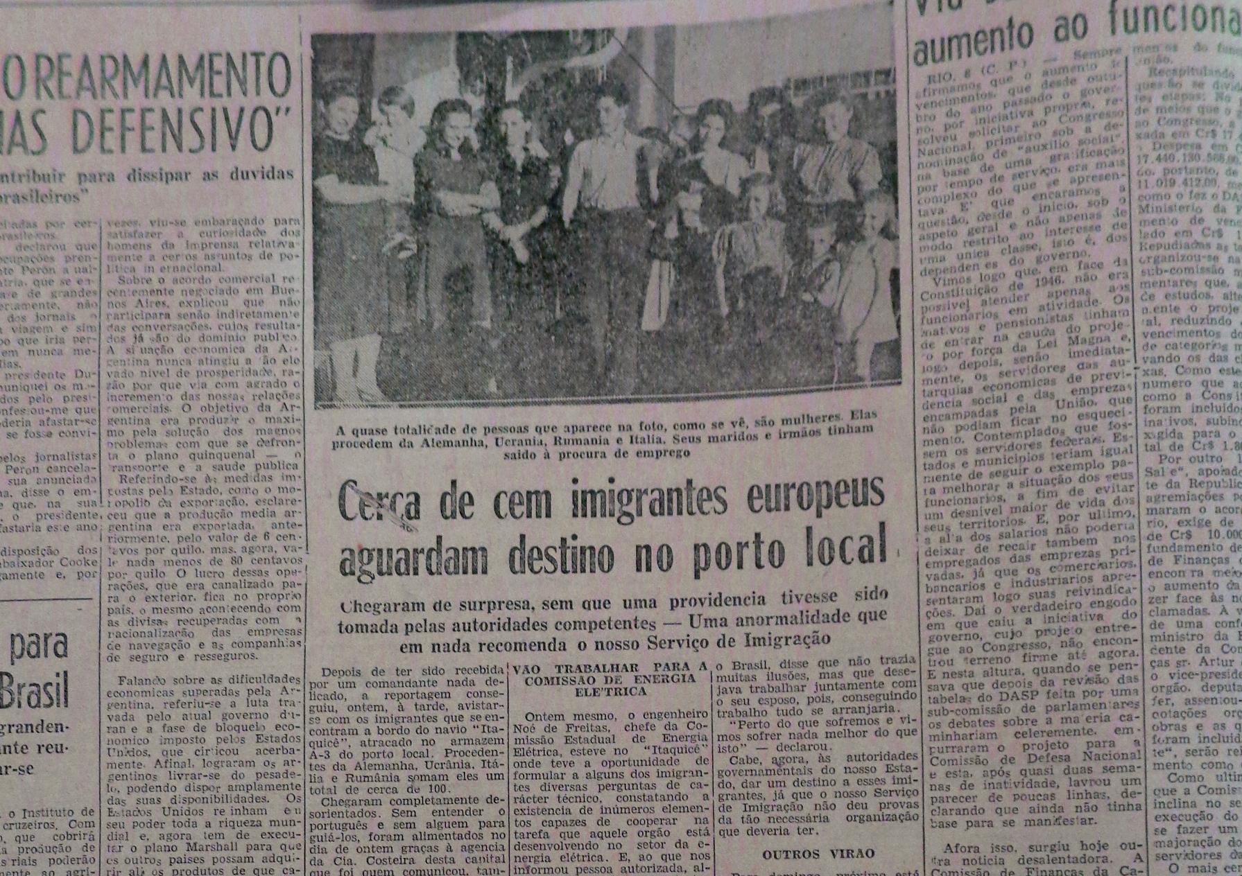A imigração estrangeira no Rio Grande do Sul